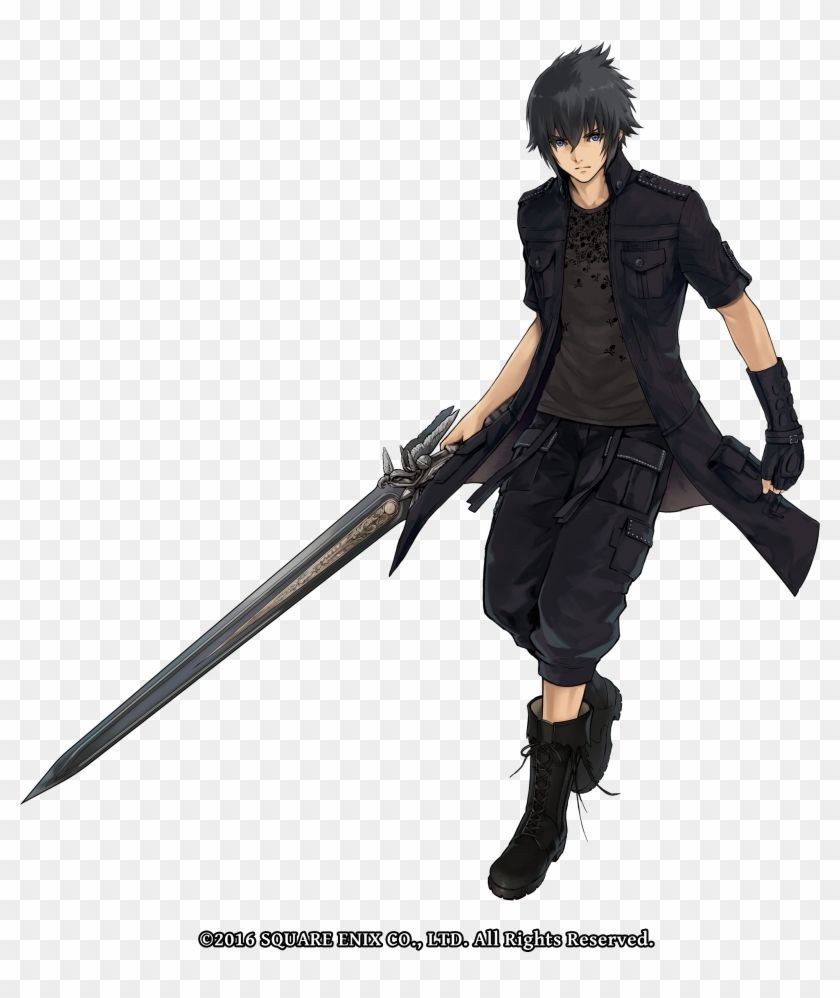 Find Hd In Defense Prince Noctis And His Companions Drew Theirs Noctis The Alchemist Code Hd Png Download To Search And Dow Noctis Prince Final Fantasy Xv