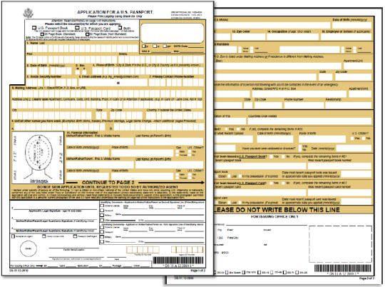 Ds 11 New Passport Application Form Passport Application Form Passport Application Passport Renewal