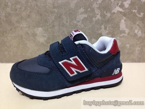 New Balance 574 Kids 574 Kids Shoes Dark Blue Red|only US$68.00,please