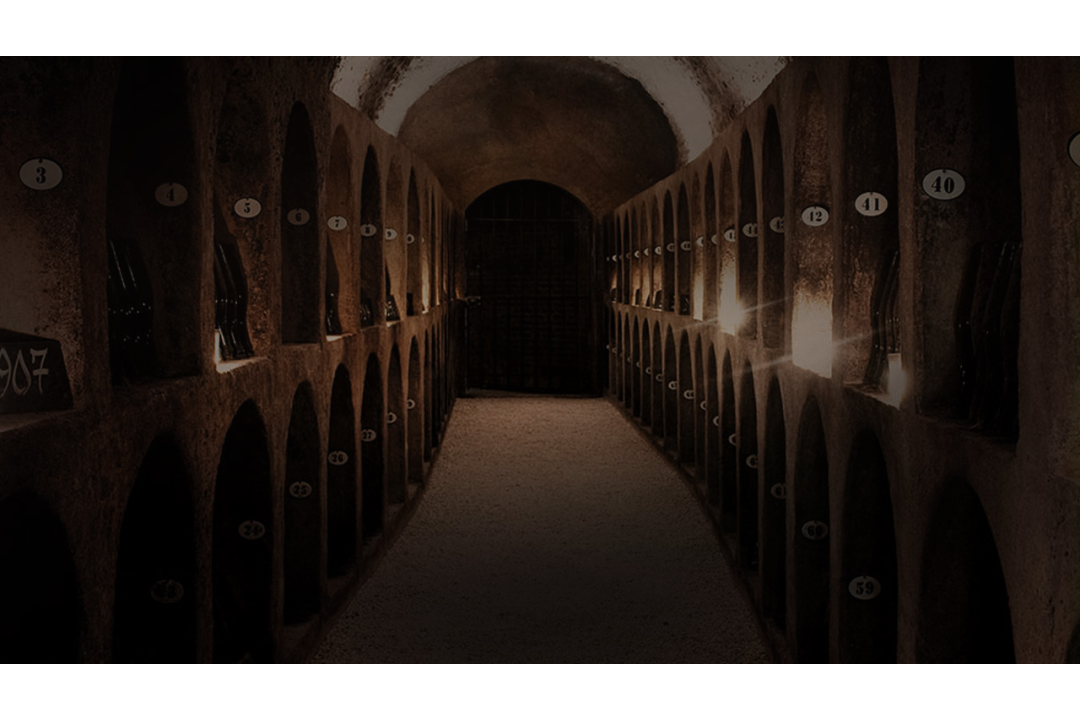 The Moët & Chandon cellars