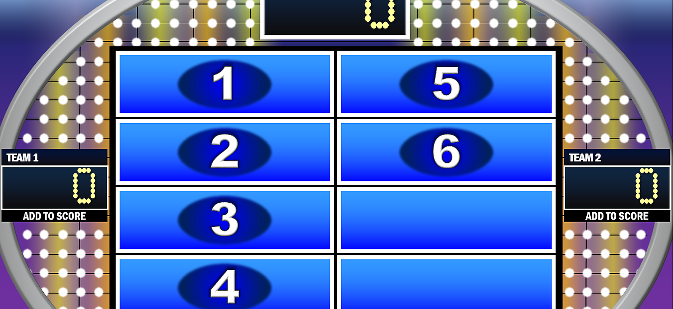 Free PowerPoint games Jeopardy, Family Feud, Wheel of