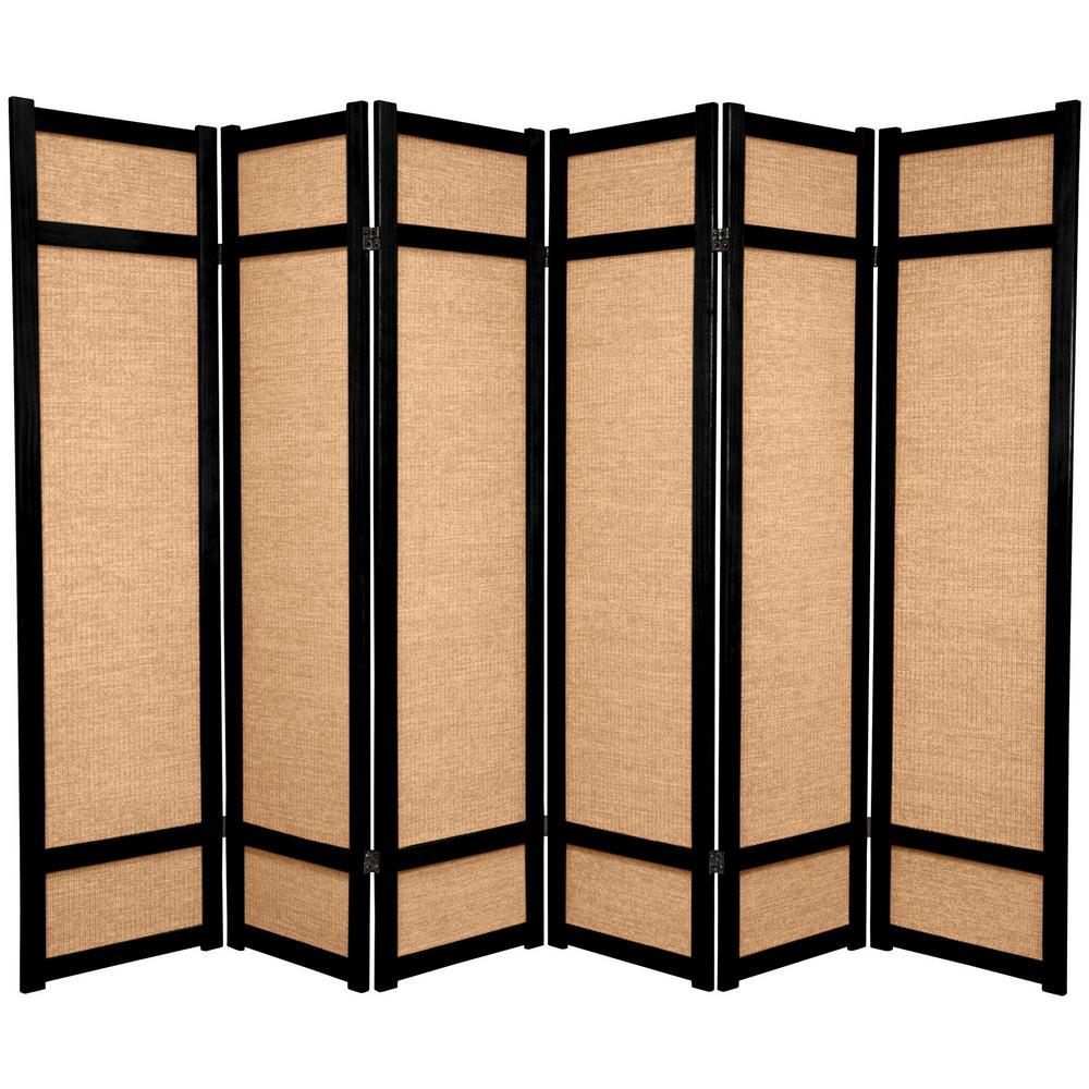 Oriental Furniture 6 Ft Rosewood 6 Panel Room Divider Jkshoji Rwd