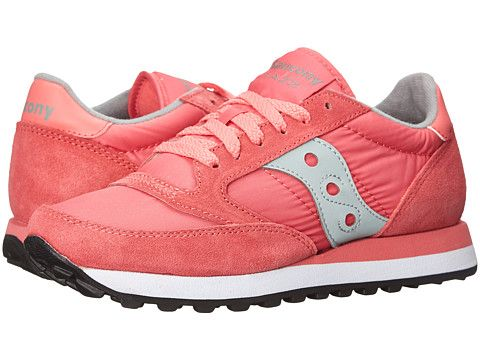 pink saucony shoes