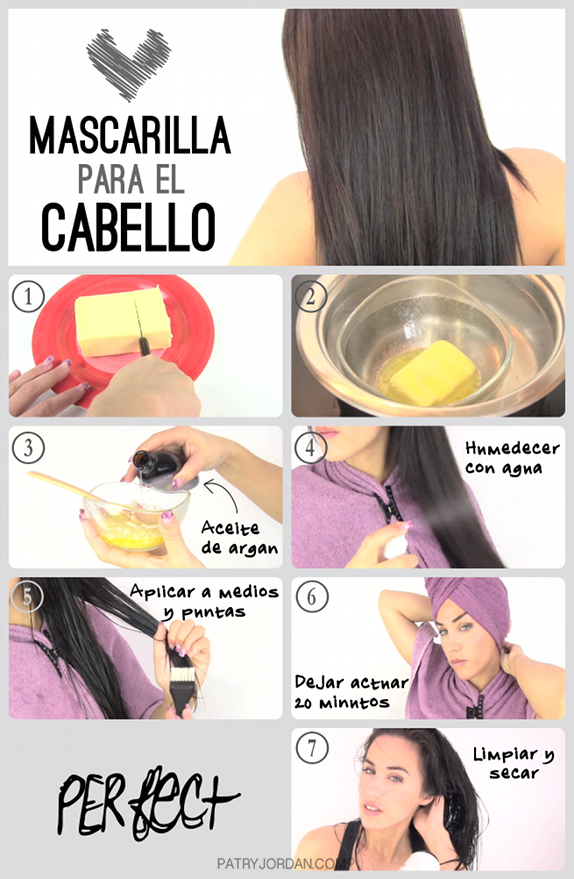 Mascarillas naturales para hidratar cabello rizado