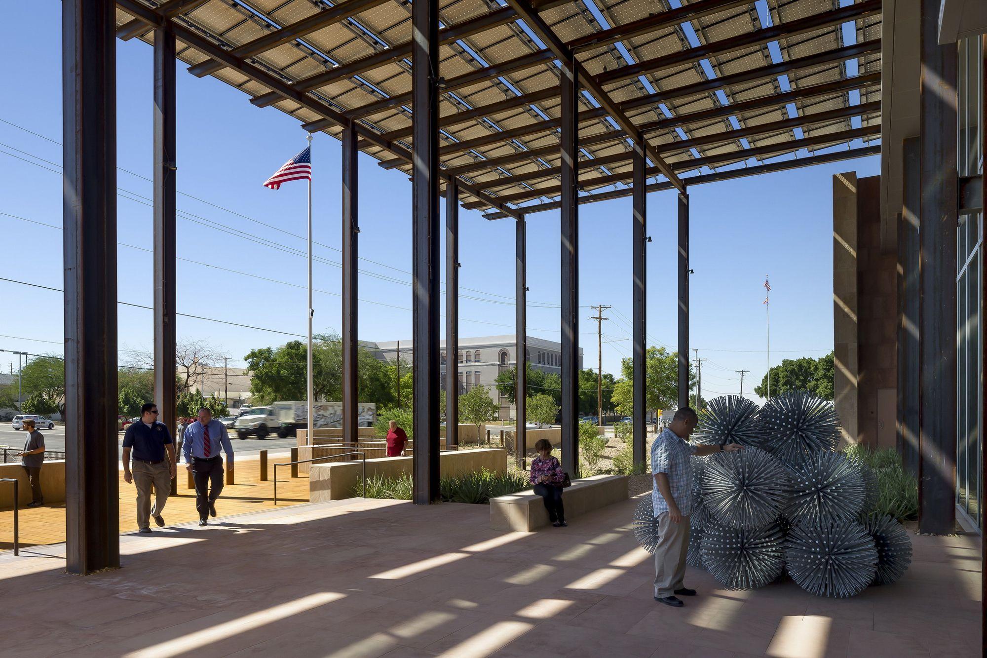 Palácio de Justiça John M. Roll  / Ehrlich Architects
