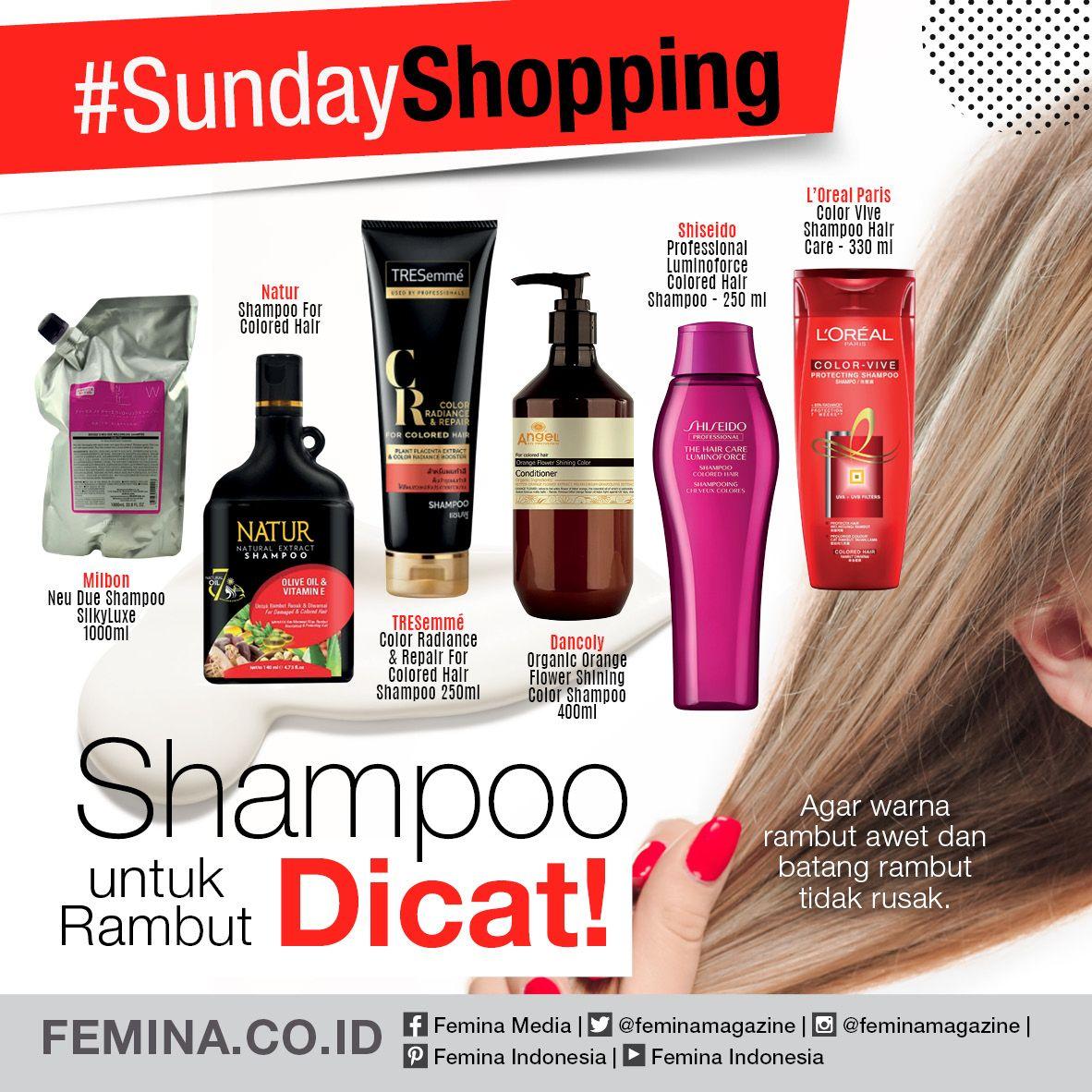 Shampoo Untuk Rambut Dicat Perawatan Kulit Rambut Dan Kecantikan Perawatan
