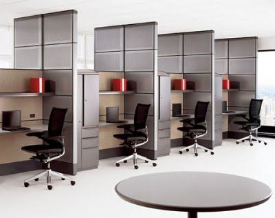 Good Simple And Stylist Small Office Space Design Ideas