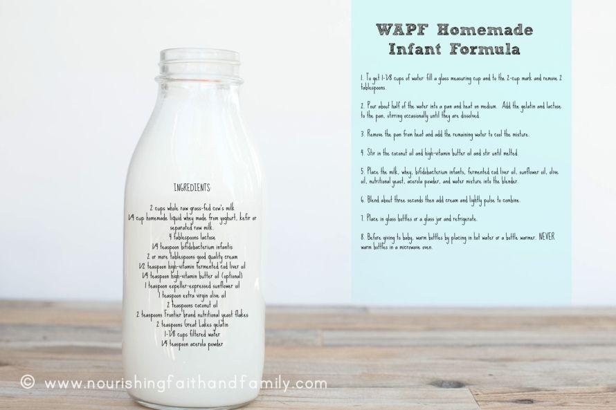 Homemade Infant Formula Weston A Price Foundation Recipe Baby Formula Homemade Baby Formula Formula Recipes