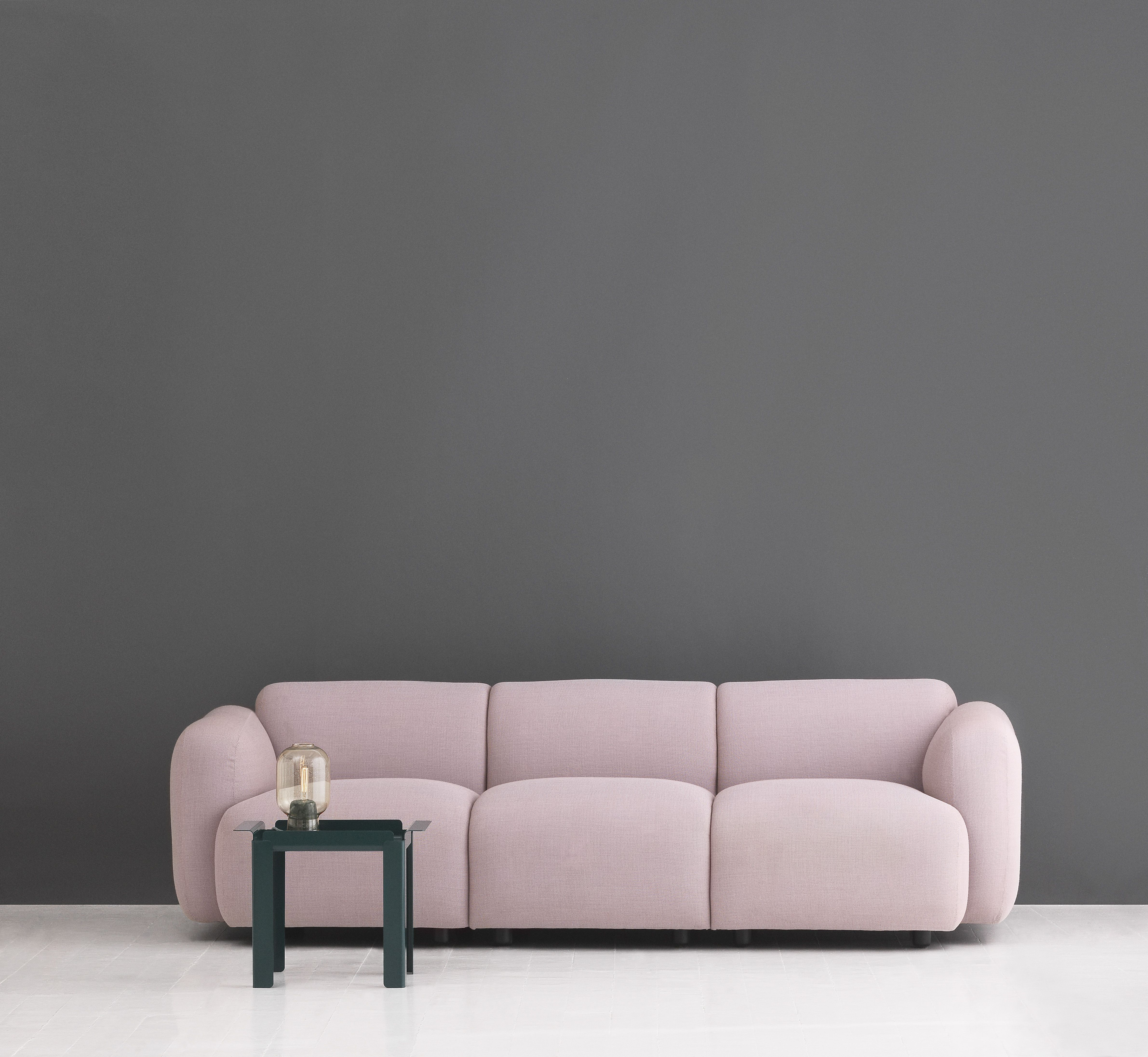 Funky Furniture Ottawa A Rose Swell Sofa And Box Table From Normann Copenhagen