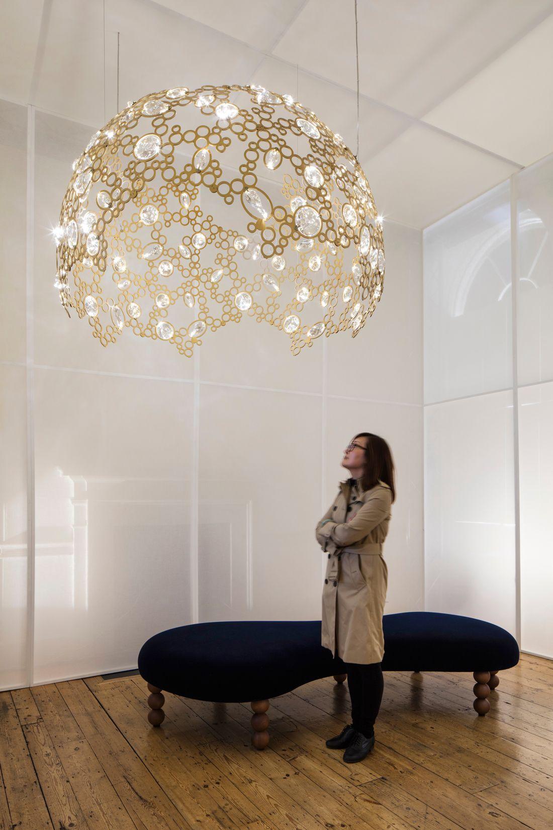 LightInTheBox LED Crystal Chandelier Lihting Transparent Crystal Round 4 Rings 20CM Plus 40CM Plus 60CM Plus 80CM Lamps Fixtures