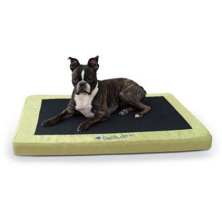 K Comfy N' Dry Indoor/Outdoor Pet Bed, Green