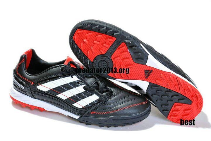 1f6e3cf05 ... sale adidas predator absolado x trx tf soccer boots black white red  beckham soccer shoes fd864