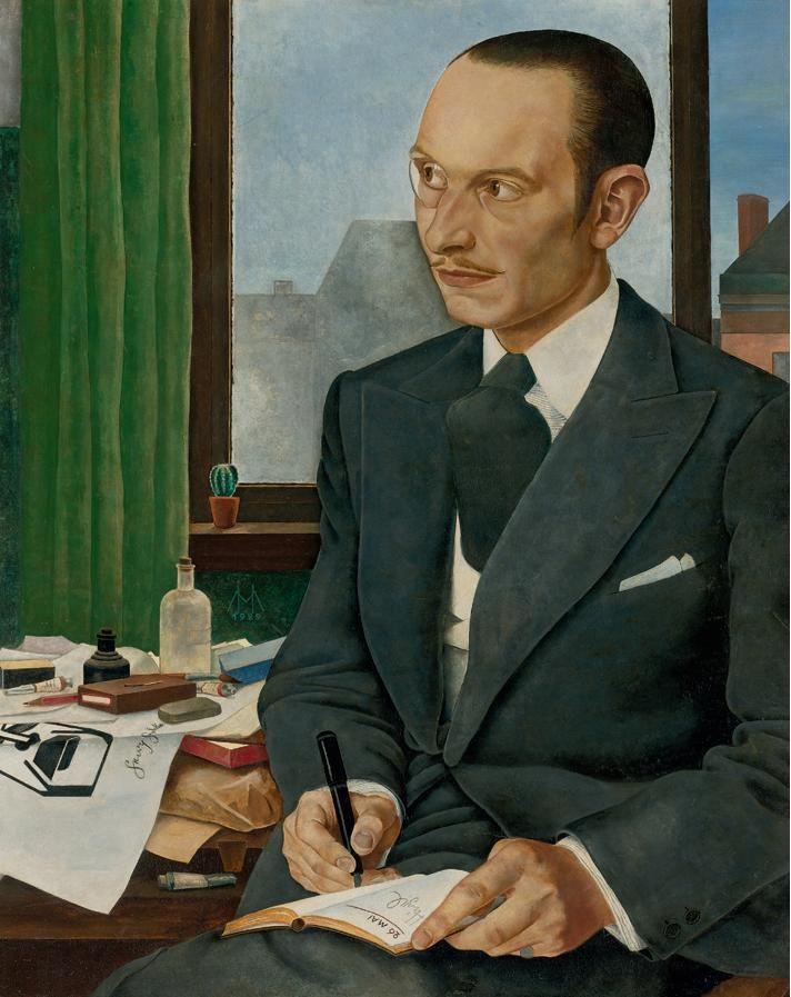 Portrait of George Goedecker, 1929 by Manfred Hirzel (1905-1932)