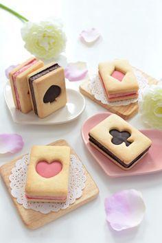 トランプクッキーのバターサンド - gynog - #gynog #トランプクッキーのバターサンド #quickcookierecipes