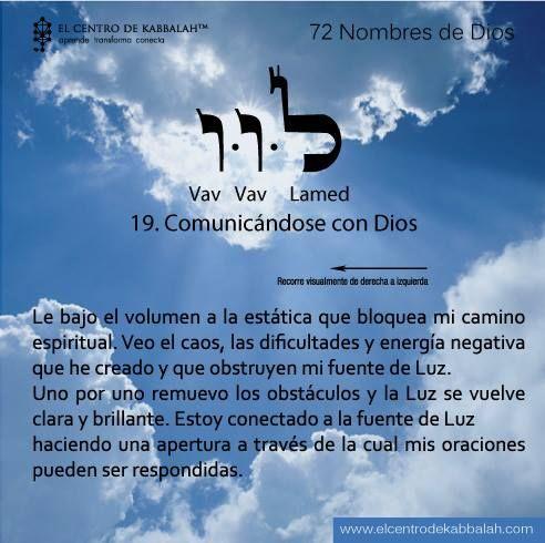 Resultado de imagen de 72 nombres de dios. COMUNICANDOME CON DIOS