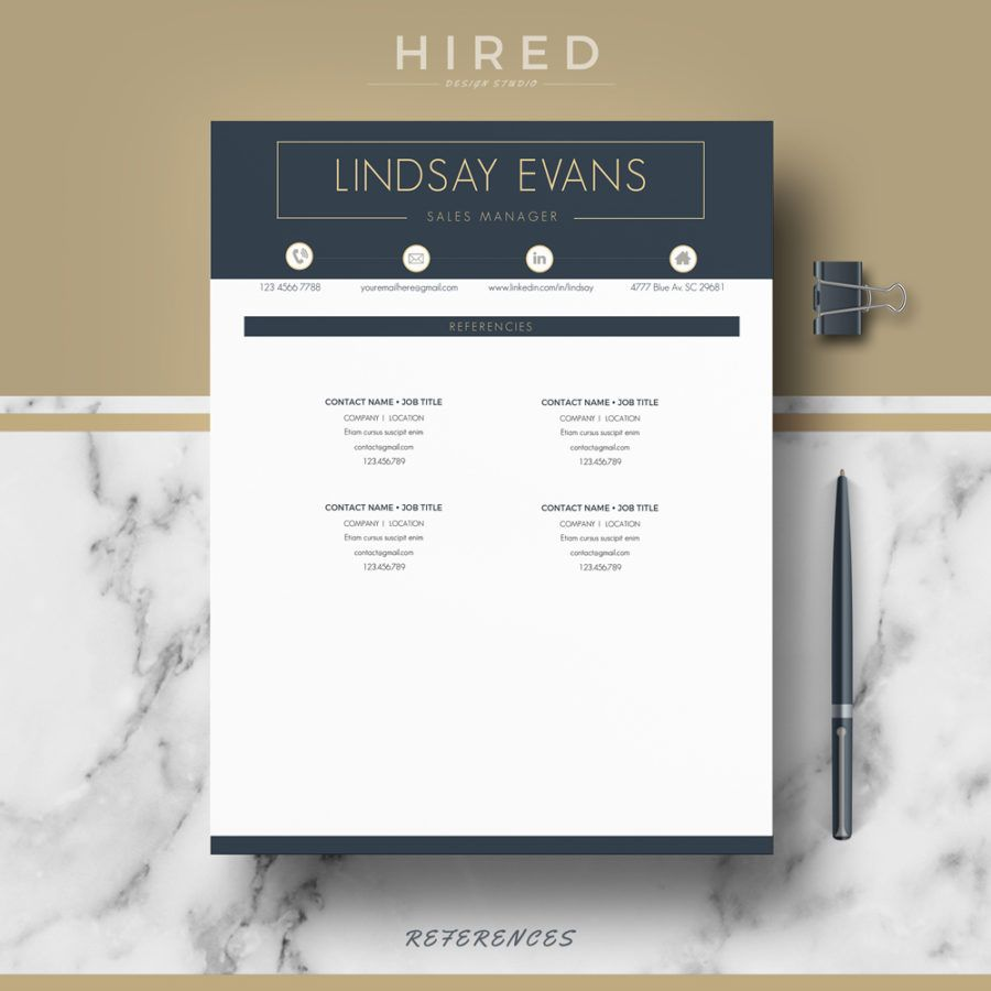 professional  u0026 modern resume template for ms word