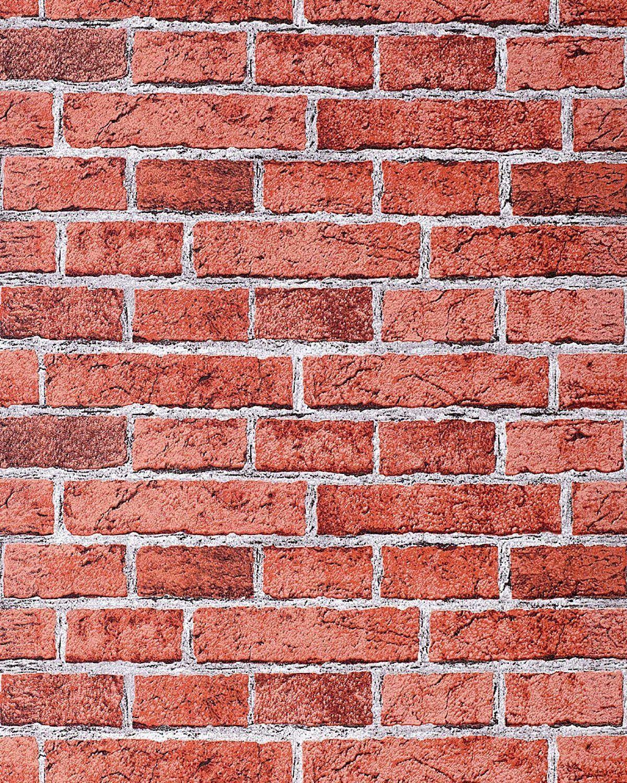 Edem 583 24 Papel Pintado Con Efecto Muro De Ladrillos Con  ~ Plaqueta Imitacion Ladrillo Rustico