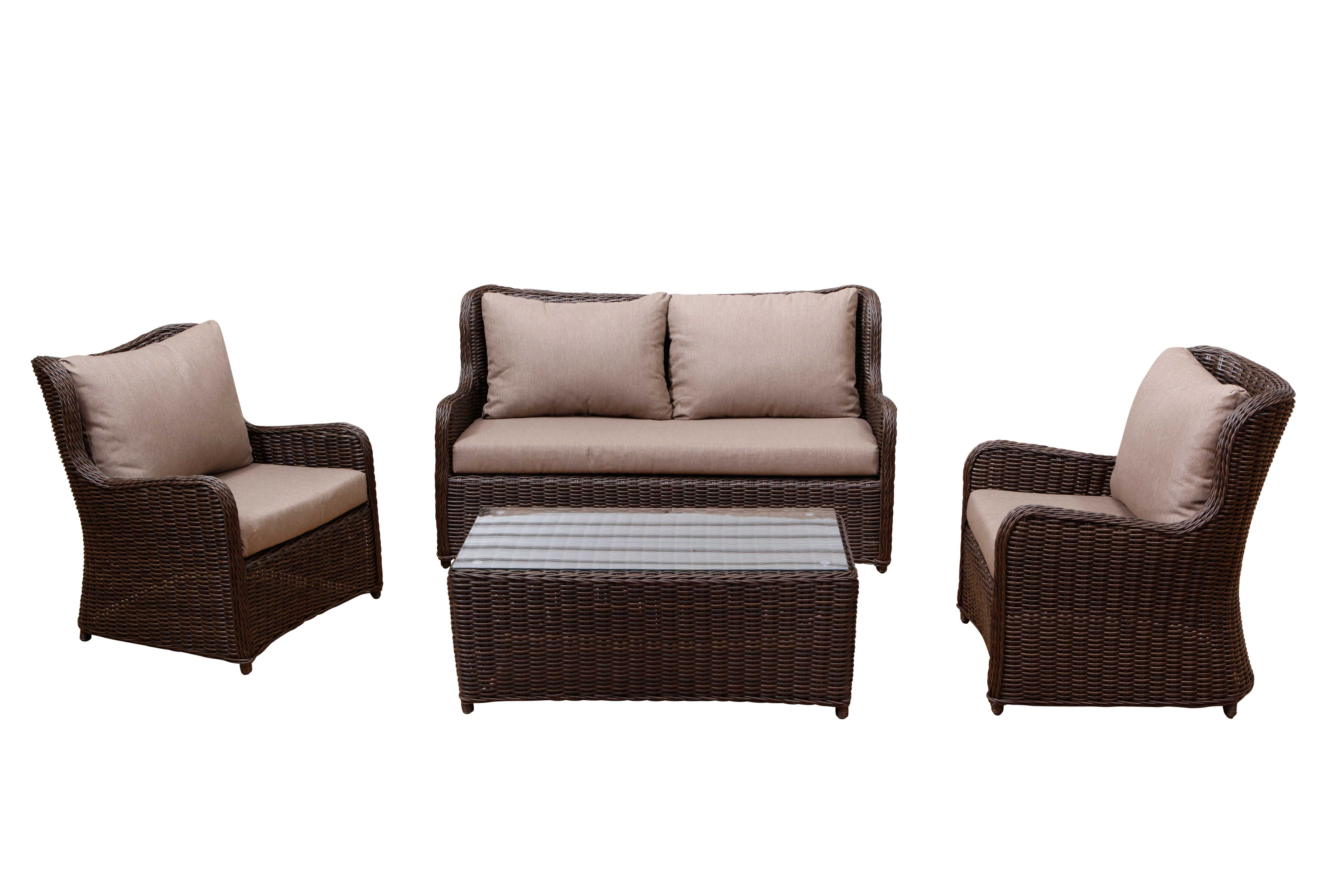 Calais Outdoor Lounge 4pce Available At Drovers Inside Out