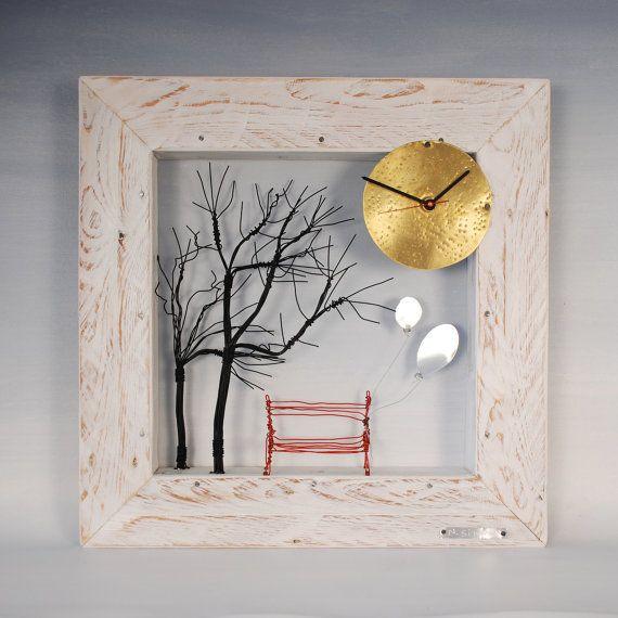 Unique Wooden Clocks Frames Modern Handmade Clock Of Wood Frame