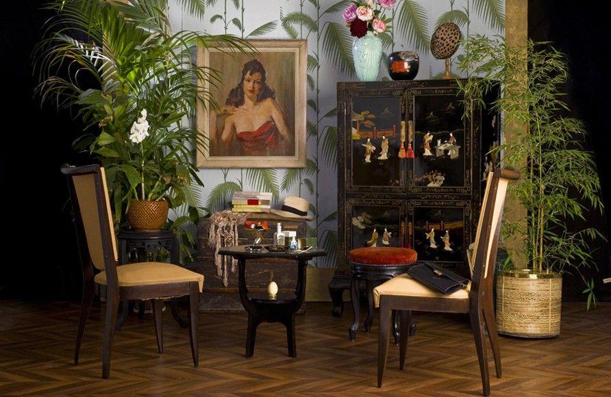 Idées Déco Chambre Style Napoléon III Meubles Chinois Vintage - Decor de chambre boheme a vendre