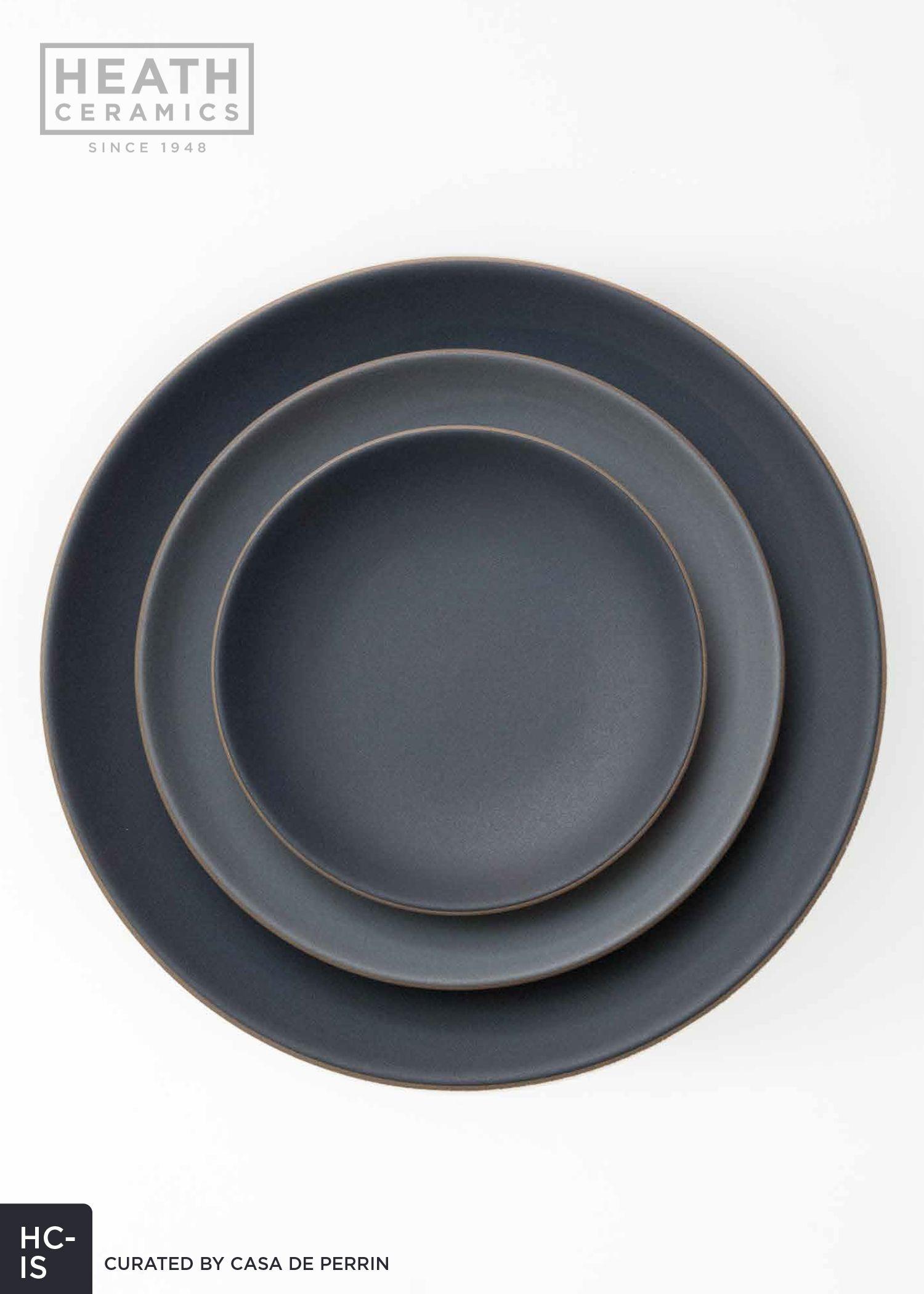 Heath Ceramics   Indigo/Slate - Dinner Plate Salad Plate Bread Plate /  sc 1 st  Pinterest & Heath Ceramics   Indigo/Slate - Dinner Plate Salad Plate Bread ...