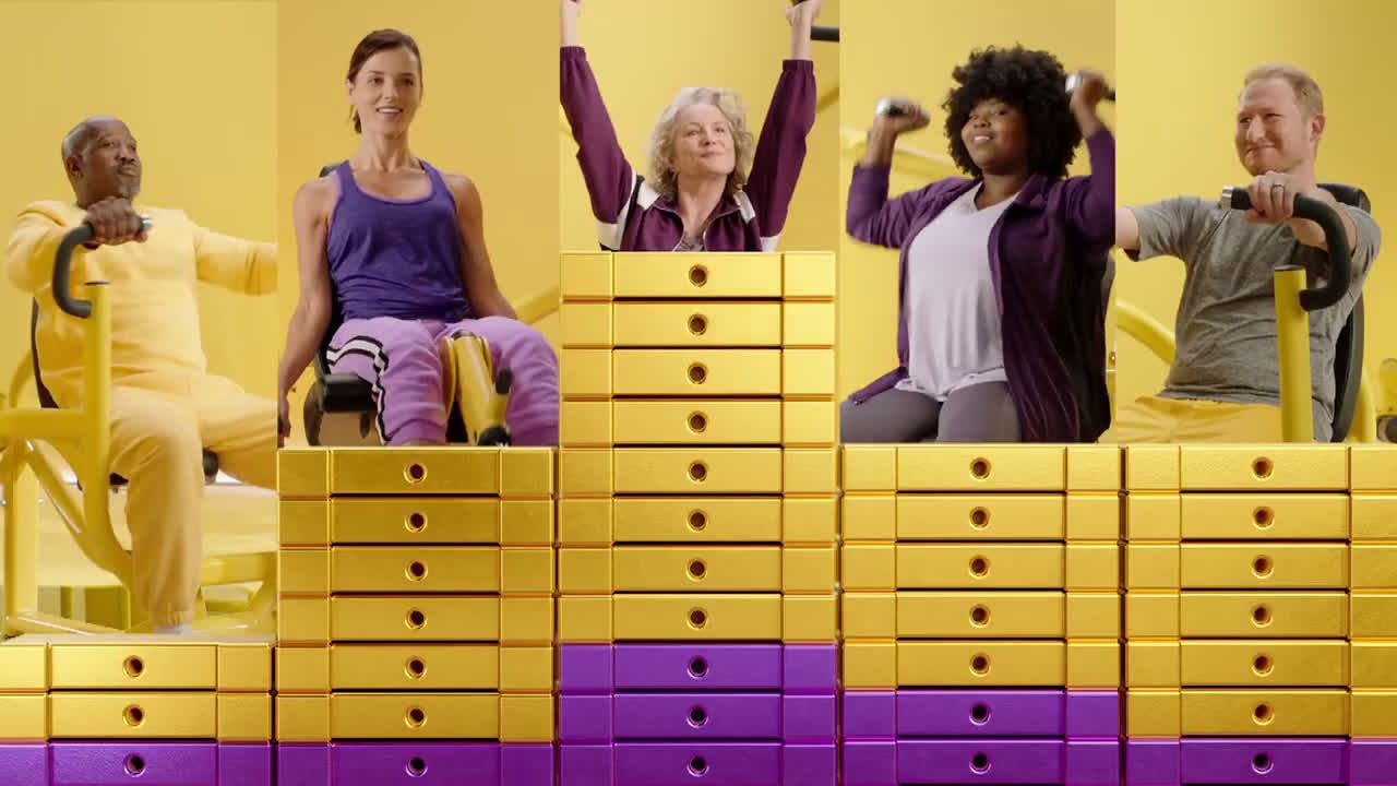 Planet Fitness 1 Down 10 A Month Get Down With Your Judgement Free Self Sale Ad Commercial On Tv 2019 Planet Fitness Workout Tv Commercials Planets