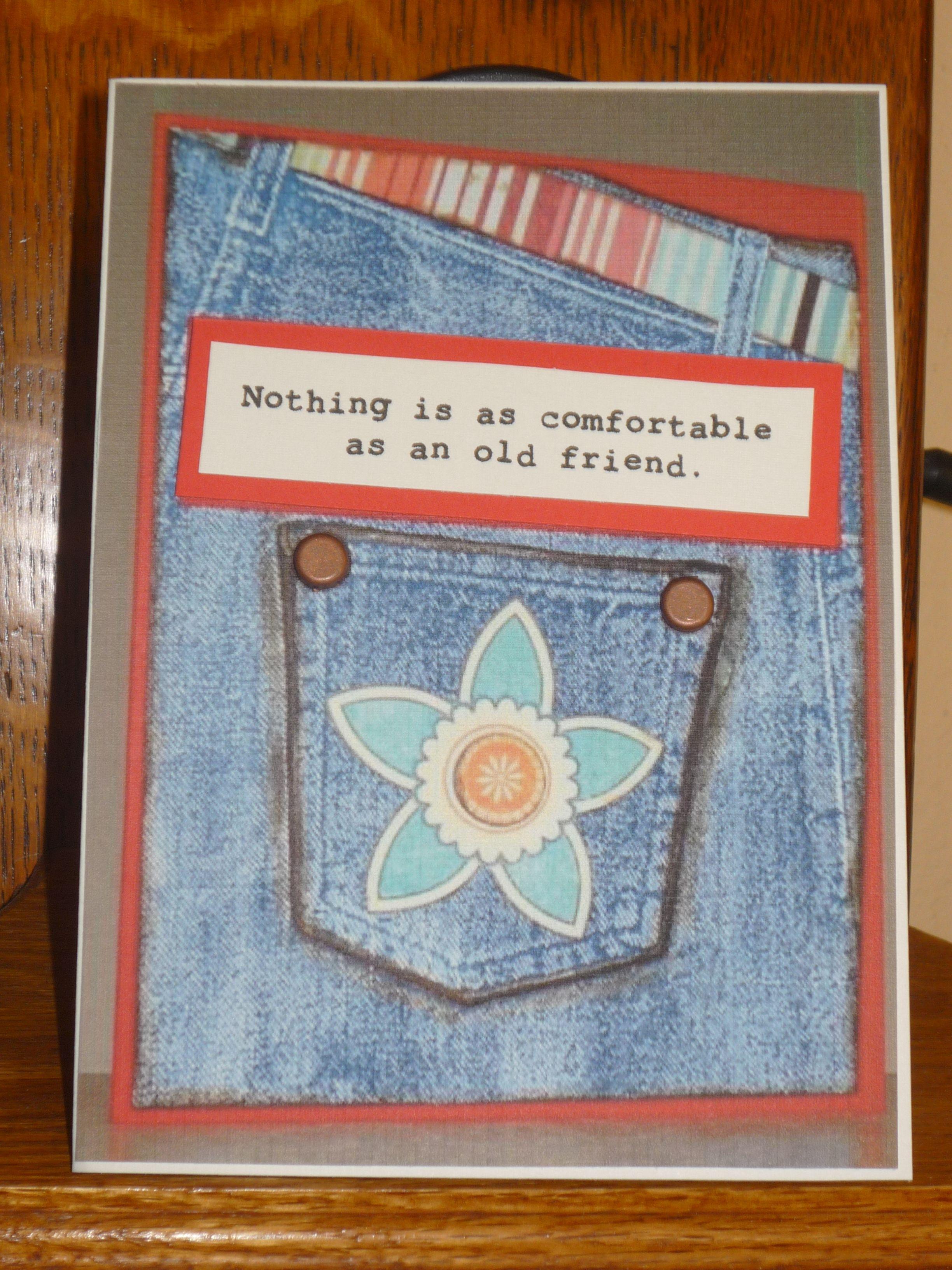 Card for a lifelong friend lifelong friends cards