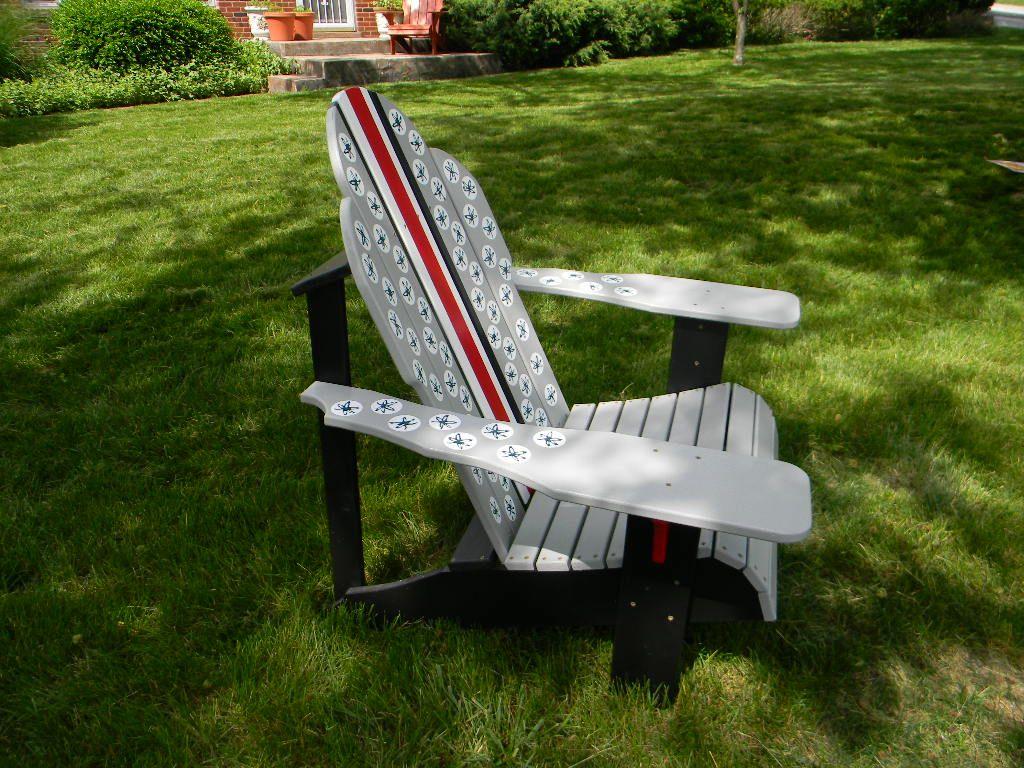 Ohio State Buckeye Adirondack Chair & Ohio State Buckeye Adirondack Chair | For the Home | Ohio state ...