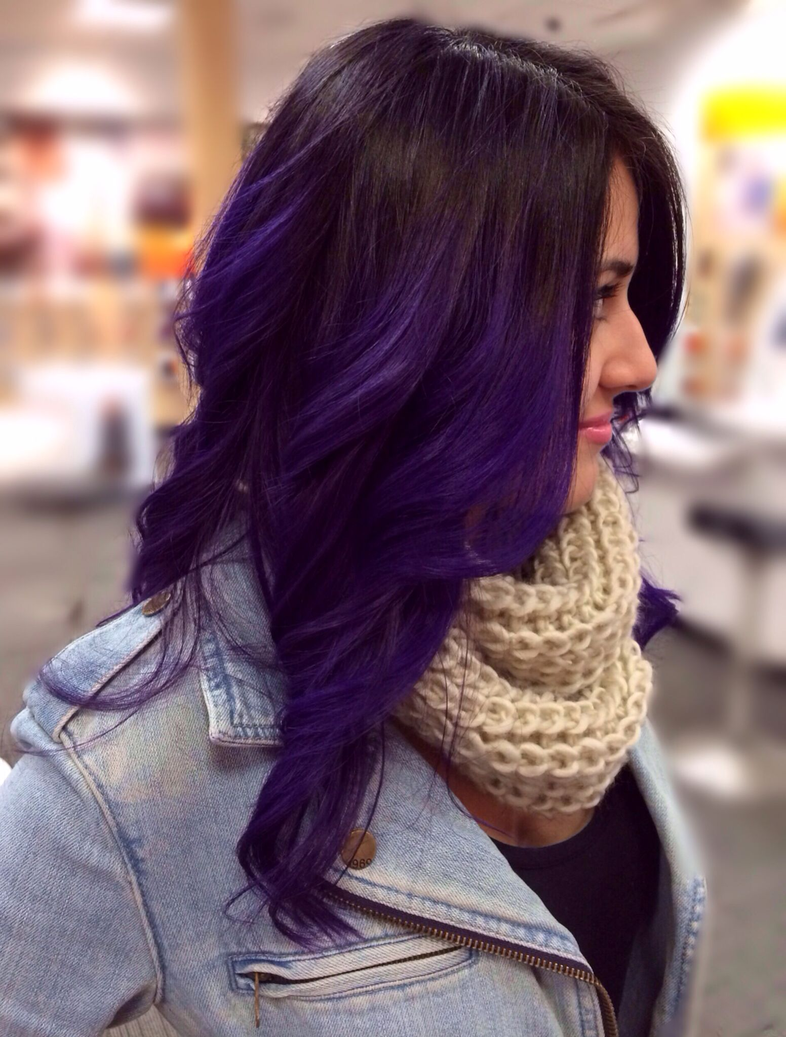 Purple hair hairstylepeinados pinterest hair coloring hair