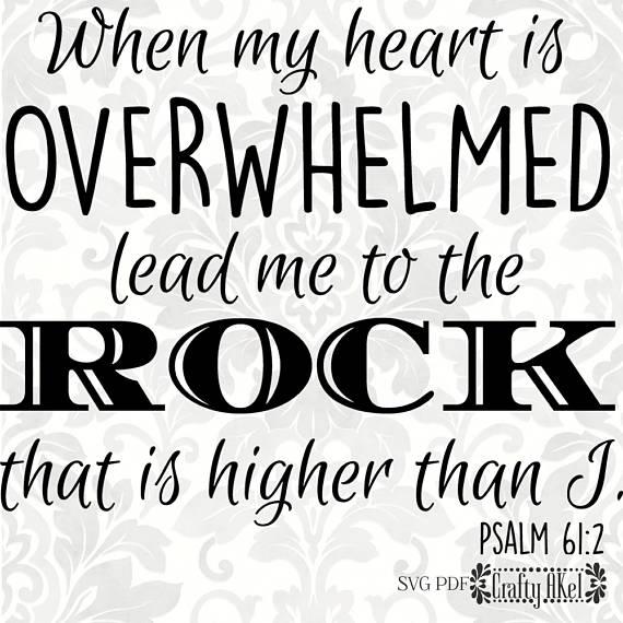 Psalm 612 Svg