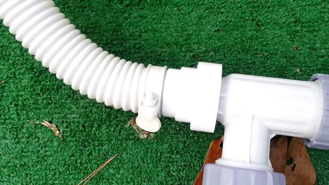 Intex Pool Pump Youtube How To Convert A Summer Escapes Pro Series Pool To Larger Intex 2500