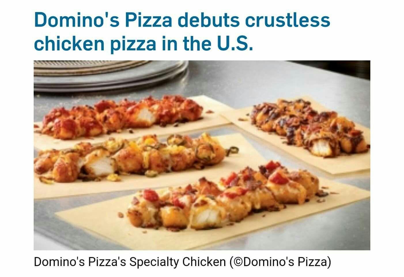 Domino S Crustless Pizza Crustless Pizza Chicken Bites Buffalo Chicken Bites