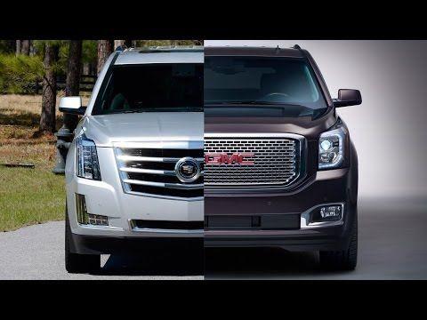 2015 Gmc Yukon Denali Vs 2015 Cadillac Escalade Cadillac Pinterest Yukon Denali Cadillac Escalade And Cadillac