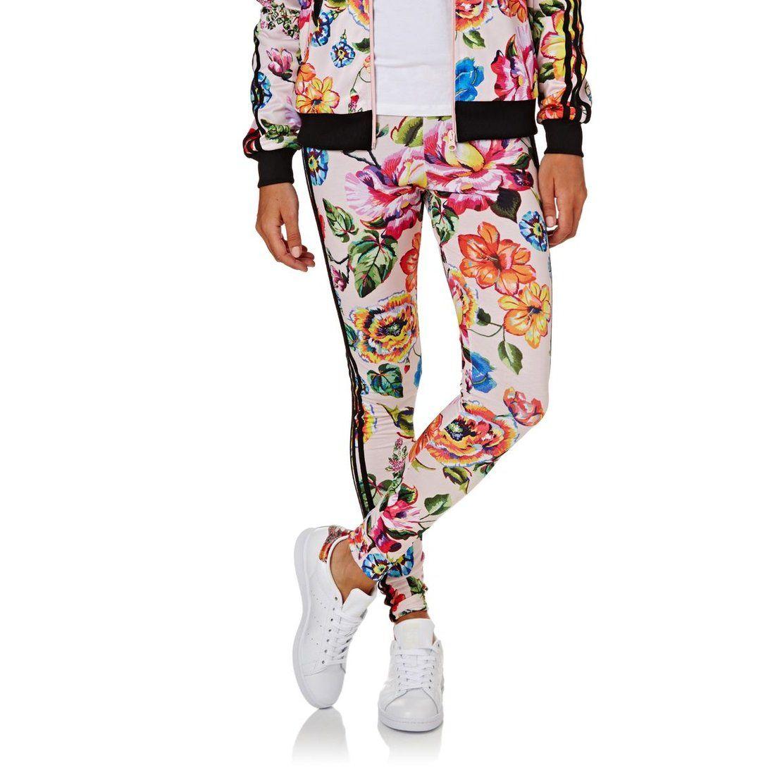 d8a14ba2956 Adidas Originals Floralita Tights Multicolor | 27,99 GBP ...
