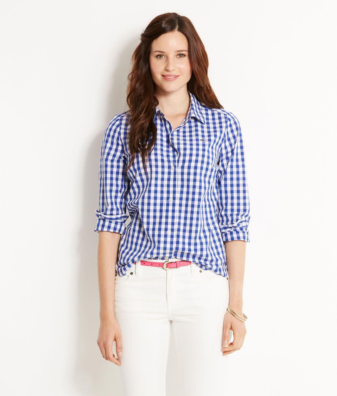 31e02ea7b4191 Shop Button Downs  Medium Gingham Shirt for Women