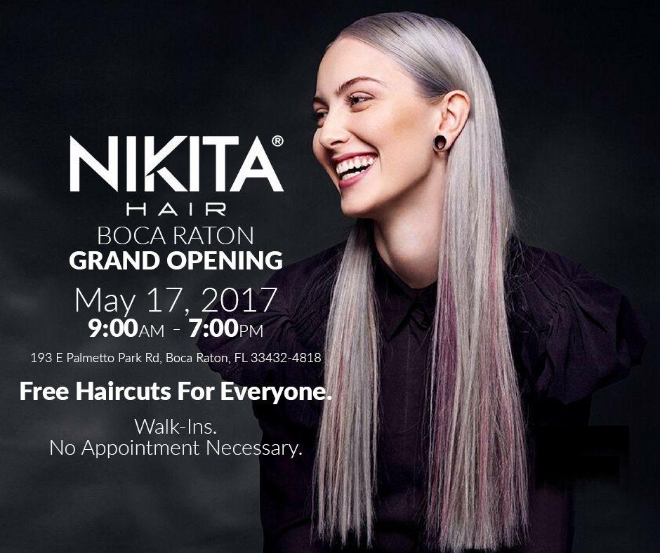 Awardwinning Scandinavian Hair Salon Chain Nikita Hair Opening In Boca Raton Fl Free Haircut Financial News Informative