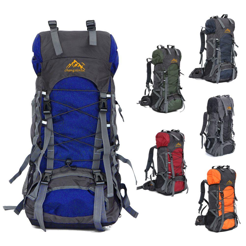 63c22cae8029 60L Large Outdoor Backpack Waterproof Unisex Nylon Travel Bags Camping  Hiking Climbing Backpacks Waterproof Rucksack Sport bag    FREE Worldwide  Shipping!