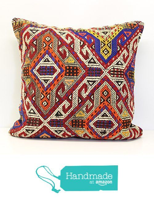 Decorative Huge Kilim Pillow Cover 40x40 Inch 40x40 Cm Big Kilim Cool 28x28 Pillow Cover