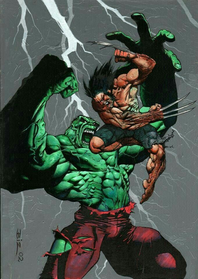 hulked out wolverine - 474×668