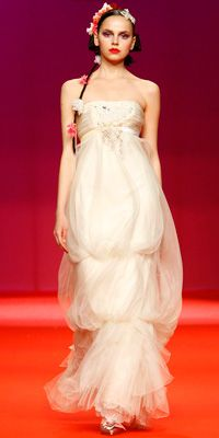 Lacroix Wedding Dresses Dress From The Vogue Shoot Was