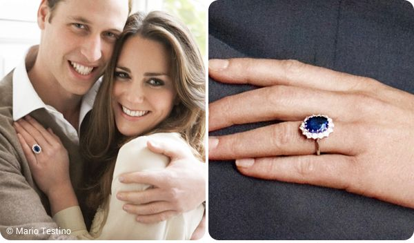 Kate Middleton Engagement Ring Replica Of The Sapphire Diamond Ring Kate Middleton Engagement Ring Kate Middleton Wedding Ring Kate Middleton Ring