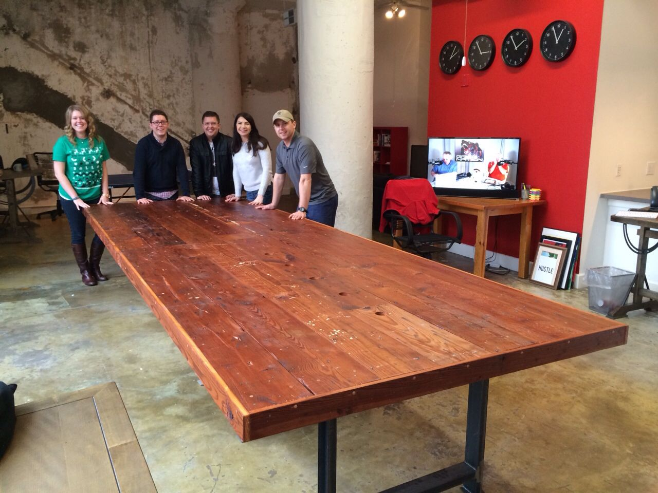 Custom Ft Reclaimed Wood Conference Table By RR Designworks Www - 15 foot conference table