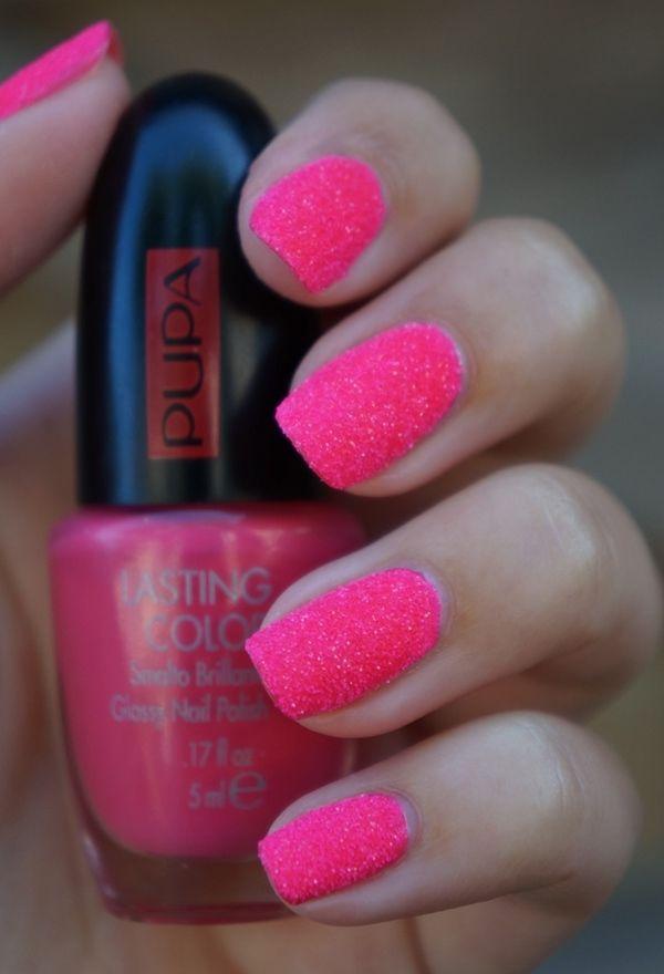 PUPA Nail Art Mania Crazy Crystals | Fluo Pink ~ Beautyill ...