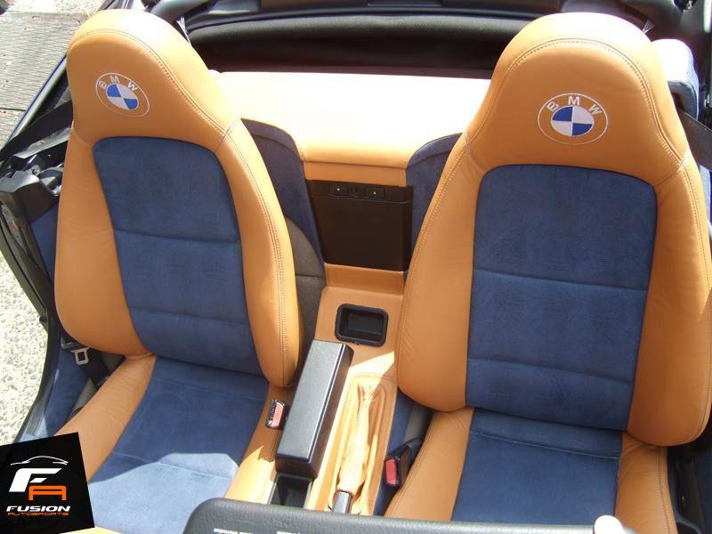 Bmw Z3 Custom 2 Tone Interior By Fusion Autosports Custom Cars In Woodbridge Nj 732 333 6161 Bmw Z3 Bmw Custom Cars
