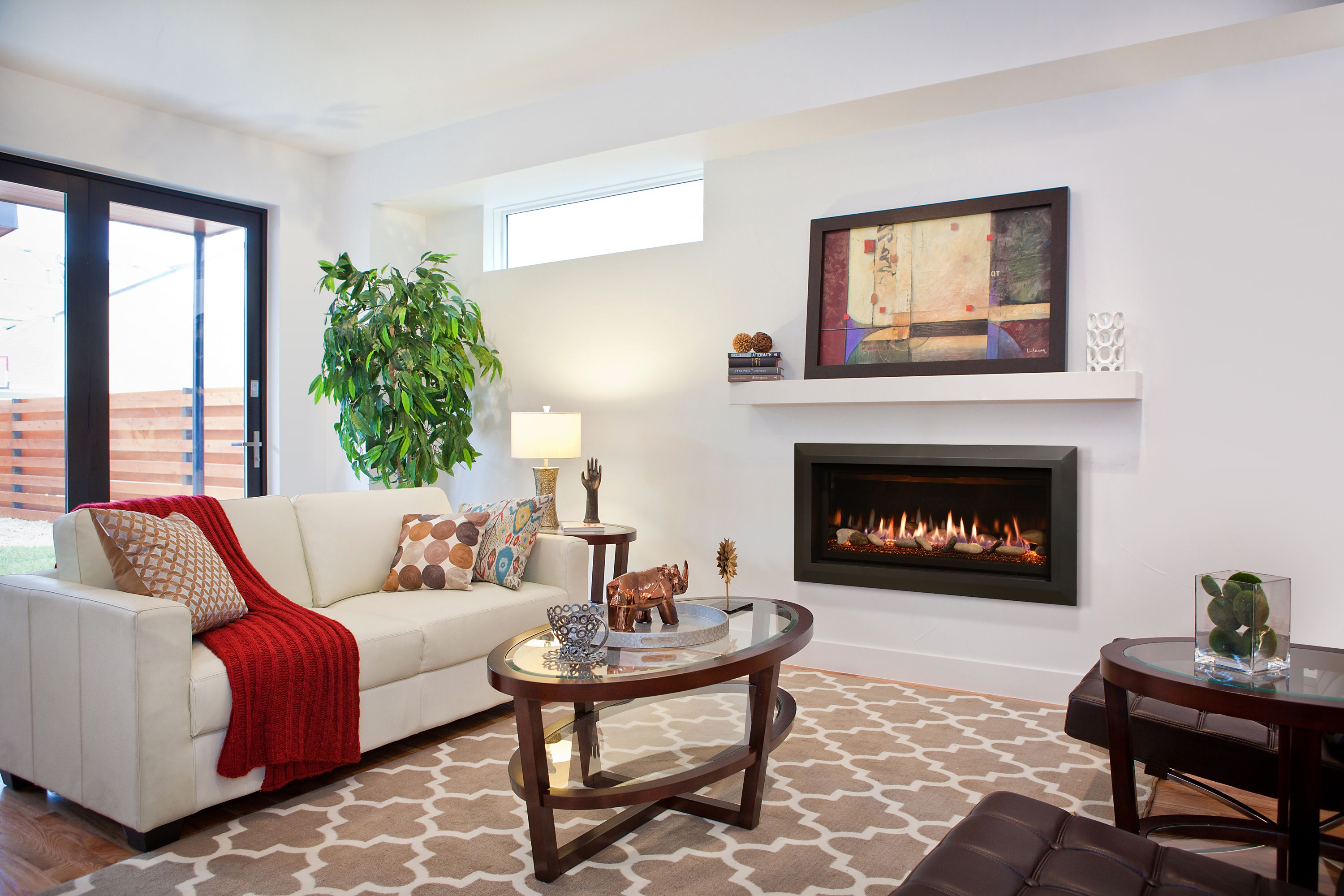 This Is Our Slayton 36 Direct Vent Linear Gas Fireplace For More Information Visit Us At Www Kozyheat Products