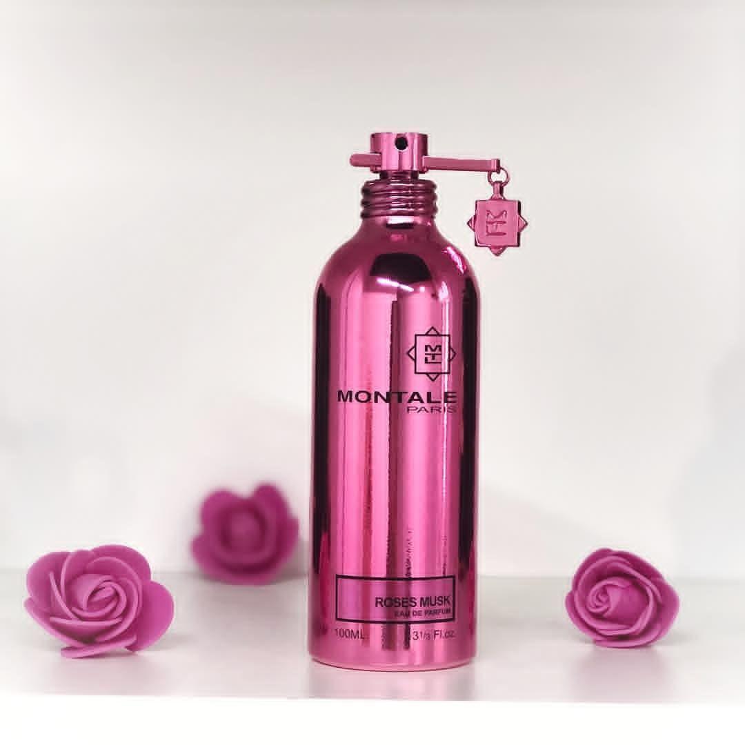 عطر مونتال روز مسك للنساء برائحة الزهور والمسك Perfume Bottles Perfume Bottle