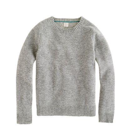 Boys' lambswool sweater, $40.