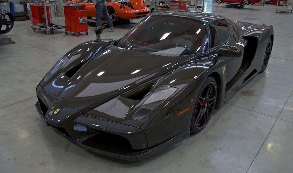 Oneu2013off Naked Carbon Fiber Ferrari Enzo.