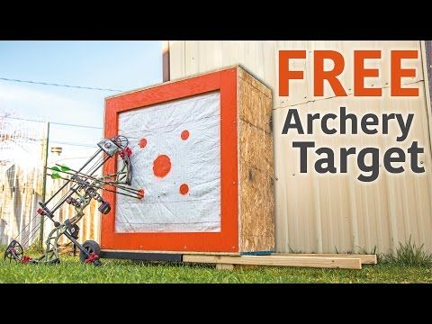 How To Make A Diy Archery Target From Scrap Materials Diy Archery Target Archery Target Archery
