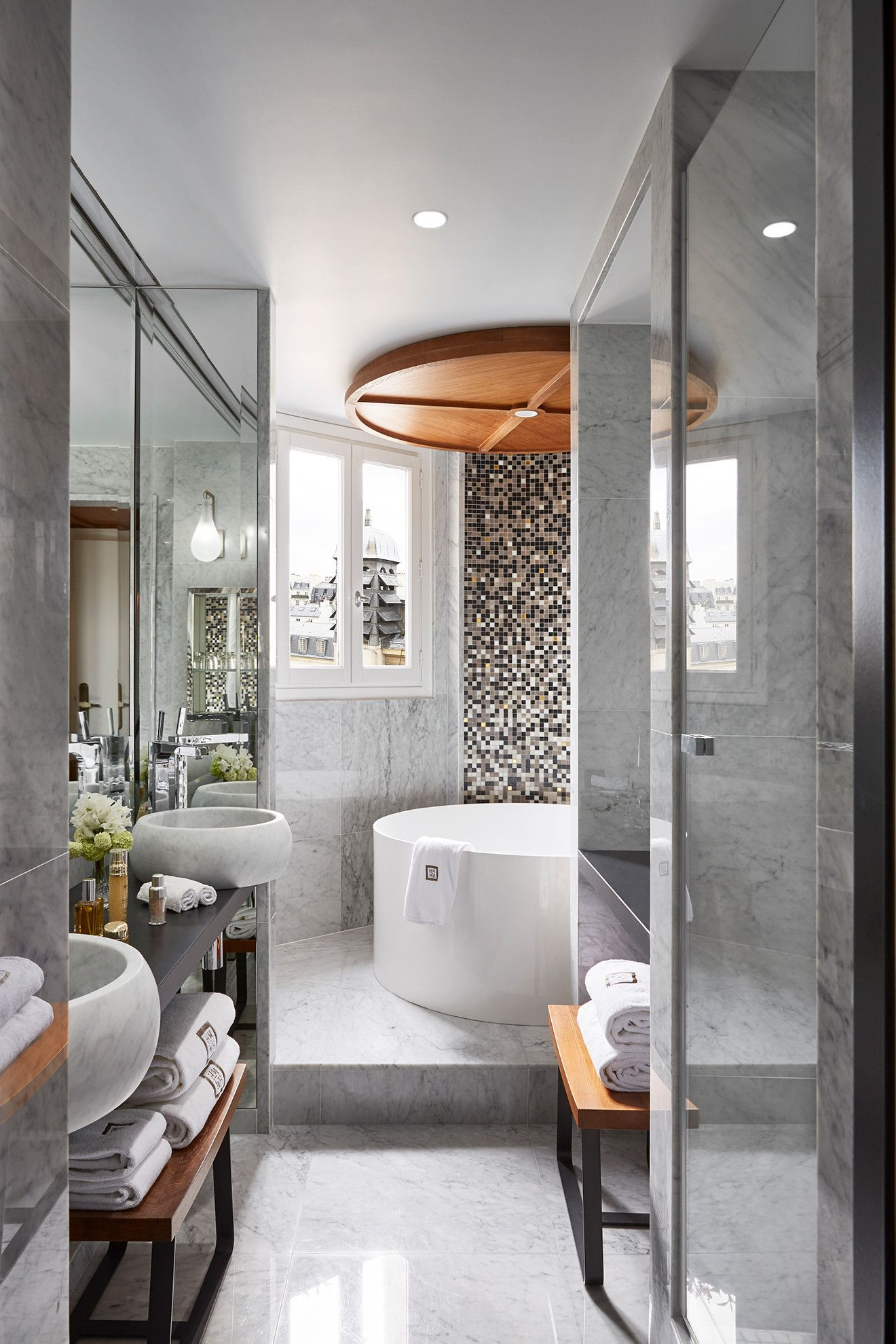 Hotel Montalembert, Paris, France | Bathroom design luxury ...